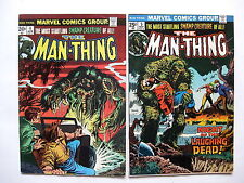 Man-Thing  #4, #5   (Marvel Comics Group, volume 1, issues from 1974)