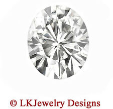 0.90 CT FOREVER CLASSIC MOISSANITE OVAL LOOSE STONE - 7 x 5 mm