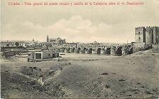 Cordoba Del Puente Romano Y Castillo De La Calahorra El Rio Guadalquivir Spain