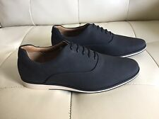 New Men's Zara Oxford Style Casual Shoes, Black, Size 7