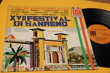 MINA MAT 65 I GIGANTI...LP SAN REMO ORIGINALE USA '60 COPERTINA CARTONATA TOP RA