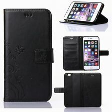 Leather Wallet Cards Holder Stand Case Cover For Apple iPhone 6 7 / 7 Plus Flip