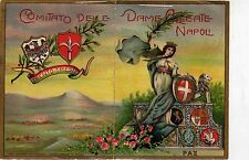 1916 calendarietto - comitato donne alleate napoli