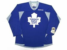 TORONTO MAPLE LEAFS BLUE REEBOK PRACTICE HOCKEY JERSEY SIZE LARGE