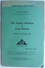 The Labour Situation in Great Britain A Survey 1940 WWII UK employment economics