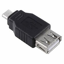 eForCity® USB 2.0 A to Micro B Female / Male Adaptor
