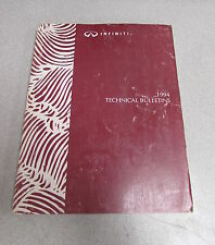 1994 Infiniti Technical Service Bulletins Repair Manual