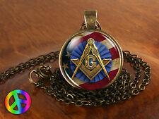 Masonic Free Mason Freemason Illuminati Mens Men Necklace Pendant Jewelry Gift 5