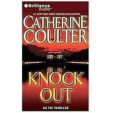 Catherine Coulter Knock Out abridged audio book FREE SHIPPING