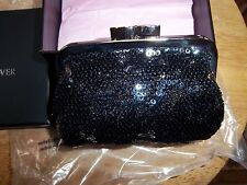 NEW Victorias Secret Angel Forever Exclusive Black Sequin Purse 2013