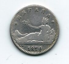 Gobierno Provisional  50 Céntimos de peseta  1870  ( ENVIO GRATUITO )  NL184