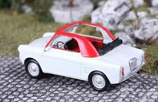 Saller-Modelle 1/87: A8729 Autobianchi Bianchina, 22 PS (Bj.1957-69), weiß/rot