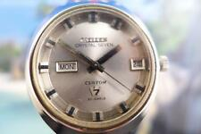 Classic Citizen STAINLESS STEEL Automatic MENS WATCH 40mm Day/Date