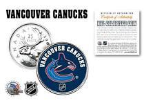 VANCOUVER CANUCKS NHL Legal Tender Canada Quarter Coin