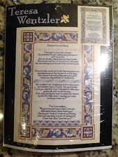 Teresa Wentzler Counted Cross Stitch Footprints, #113958, Religious, Jesus