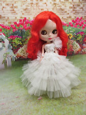 Handcrafted beads tutu clothing outfit gown dress for Blythe doll 956-10