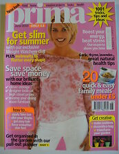 Prima Magazine June 2003. Creative cushion ideas. Sew must have combat trousers.