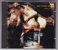 NICE Strong Arm-stress City CD ALBUM Industrial Goth © 1989 Homestead Records