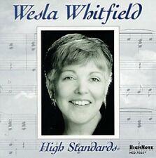 Wesla Whitfield, Weslia Whitfield - High Standards [New CD]