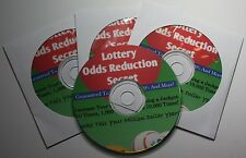 Lotto System Wins $14 Million Odds Reduction Secret Lottery WIn Success Plan CD