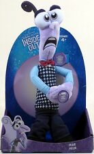 "Tomy Disney Pixar INSIDE OUT Talking Plush FEAR 12.5"" Officially licensed! NEW!"