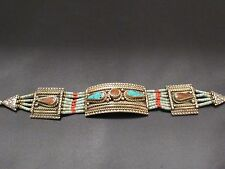FASHION Jewelry vintage bracciale handmade nepalese etnico tribale AUTHENTIC