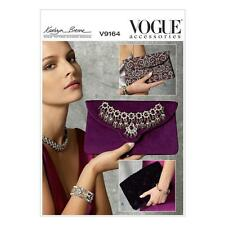 VOGUE CRAFT SEWING PATTERN VOGOUE ACCESSORIES KATHRYN BRENNE CLUTCH BAG V9164