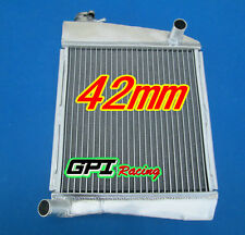 42mm aluminum alloy radiator Mini Cooper S SPI 1275 1.3L 1990-1996 91 92 93 94