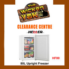 Heller 80 litre Upright Freezer Reversible Door White HF80- NEW