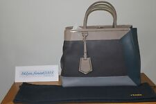 BRAND NEW AUTHENTIC FENDI 2JOURS MEDIUM SHOPPER - MULTICOLOR PATCHWORK (NWOT)