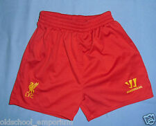 LIVERPOOL FC / 2013-2014 Home - WARRIOR - KIDS Shorts. Size: 2/3 years, 98 cm