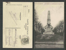 1908 CAMP de BEVERLOO MONUMENT A LA MEMOIRE DES MEXICAINS BELGIUM POSTCARD