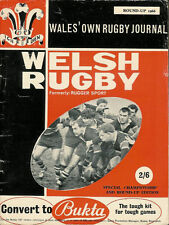 WELSH RUGBY MAGAZINE ROUND UP 1966, GIRLINGS, TREDEGAR, BP LLANDARCY