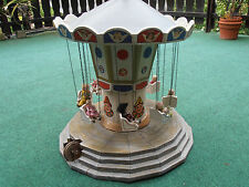 old german children carousel with 8 dolls dollhouse  karussell 1910 Germany