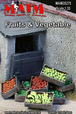 1/35 Scale Resin kit Fruits and Vegetables in trays
