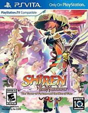 Shiren the Wanderer The Tower of Fortune and the Dice of Fate PS VITA Game New