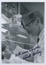 ROBERT HOLLEY Signed Photo - Nobel Prize in Physiology