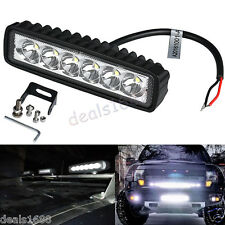 18W Spotlight LED Light Work Bar Lamp Driving Fog Offroad SUV 4WD Car Boat Truck