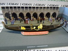 1/43 IXO altaya 007 JAMES BOND english No. 102 BONDOLA Gondola Venice