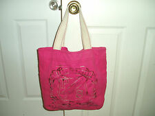 """""""AEROPOSTALE LARGE STYLISH TOTE BAG"""", Pink sequins & durable straps"""