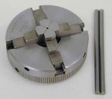 "Sherline 1075 2.5""  4 Jaw Self Centering Chuck  for Mini Lathe  Made in USA"