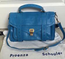 { Proenza Schouler }Medium  PS1 Rip Tide Leather Satchel Bag- Mint