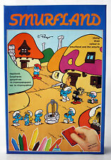 RARE VINTAGE 1985 SMURFS SMURFLAND 10 STAMP SET DESYLLAS GREECE GREEK NEW MISB !