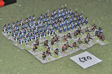 napoleonic portugese infantry 100 figures (680) painted 10mm