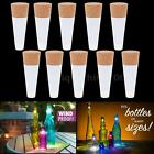 10x Cork Shaped Rechargeable USB LED Night Light Wine Bottle Lamp for Party GX2A