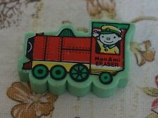 1980s Mon Ami Train Novelty Eraser/ Rubber - Has Split in the Back & No Chimney