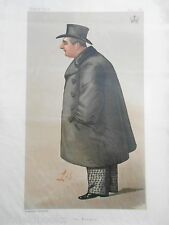 Original Vanity Fair Print of The Marquis of Ailesbury, 1888 (Includes Magazine)