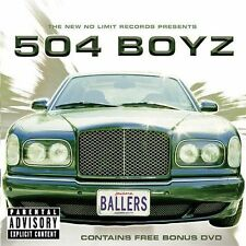 504 BOYZ Ballers CD Contains Free Bonus CD New Sealed Explicit