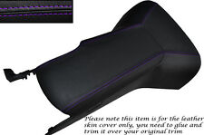 PURPLE STITCH CENTRE CONSOLE COVER & ARMREST COVER FITS CORVETTE C6 2005-2013