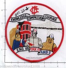Illinois - Chicago Engine 46 IL Fire Dept Patch - Wizard Of Oz